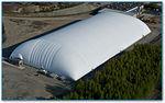 Membrana architettonica in fluoropolimero / per struttura gonfiabile / ignifuga TEDLAR® Shelter-Rite