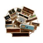 cassettone design originale / in acero / su misura