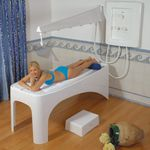 doccia Vichy / con idromassaggio / in plastica / per centro benessere