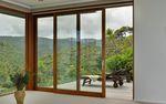 vetrata alzante-scorrevole / in legno / in alluminio / a doppi vetri