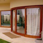 Vetrata alzante-scorrevole / in legno / in alluminio / a doppi vetri S.15 Panda Windows & Doors