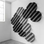 Pannello acustico in tessuto. / da parete ONDE by Perrine Vigeron De Vorm