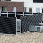 rivestimento di facciata in alluminio / in lamiera grecata / in pannello / per facciata ventilata