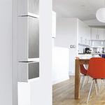 quadro elettrico a muro / per uso residenziale / attrezzato / con porta