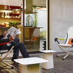 Tavolo d'appoggio / quadrato / indoor / moderno  vitra