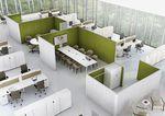 Divisorio per ufficio a pavimento / in acciaio / in tessuto / modulare SILENT WALL by Arik Levy vitra
