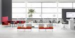 sedia visitatore / moderna / in plastica / per edifici pubblici