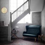 divano moderno / in tessuto / in quercia / di Jaime Hayon