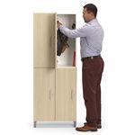 armadietto spogliatoio in metallo / standard / per edifici pubblici / per ufficio