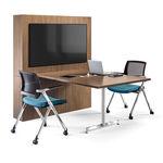 tavolo da riunione / moderno / in legno / in laminato