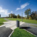 Pattumiera pubblica / in acciaio galvanizzato / moderna CARPO Hess GmbH Licht + Form