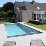 piscina interrata / in ceramica / monoblocco / da esterno