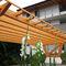 tettoia per posto-auto in calcestruzzo / in legno