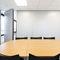 parete scorrevole impilabile / in legno / vetrata / ad uso professionale