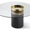tavolo da pranzo moderno / in legno / in metallo / in cristallo