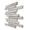 piastrella da interno / da parete / in calcestruzzo / motivo geometrico