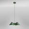 lampada a sospensione / moderna / in metallo laccato / da interno