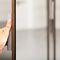 specchio da terra / moderno / rettangolare / professionale