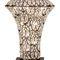 lampada da tavolo / design originale / in acciaio inossidabile / in cristallo