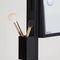 mobile da toeletta moderno / in legno / per parrucchiere / retroilluminato
