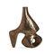 vaso design originale / in bronzo