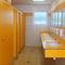 cabina WC per bagno pubblico / in HPL / in acciaio inox