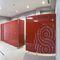 cabina WC per bagno pubblico / in vetro / in acciaio inox / in alluminio