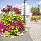 fioriera in acciaio galvanizzato / tonda / moderna / per spazi pubblici