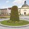 Fioriera in acciaio galvanizzato / rotonda / moderna / per spazi pubblici FLOWER TOWER H 3000 Terra Group