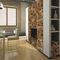 pannello decorativo di rivestimento / in legno / da parete / testurizzato