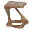 tavolo d'appoggio design organico / in legno massiccio / in frassino
