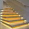 Profilo per gradini in alluminio anodizzato / con profilo illuminato a LED STAIR PROFILE INDIRECT liniLED®