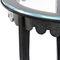 Tavolo d'appoggio classico / in vetro / in ferro modellato / in pelle JOSEPHINE Mobilier De Style
