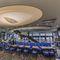 soffitto teso in tela / ad isola / acustico / luminoso