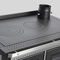 blocco cucina a legna / in acciaio inox / in ghisa / per caldaia