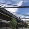 tettoia per terrazzo / in alluminio / contract