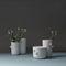 vaso design originale / in marmo / fatto a mano