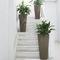 vaso da giardino in plastica / tondo / conico / verticale