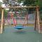 altalena in legno / per parco giochi / doppia