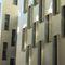 rivestimento di facciata in acciaio galvanizzato / in lamiera / in PVDF / liscio