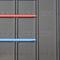 rivestimento di facciata in acciaio inossidabile / in lamiera grecata / laccato / sbalzato