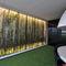 parete tesa a muro / con motivo stampato / retroilluminata / leggera