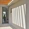 porta d'ingresso / battente / in alluminio / a isolamento termico