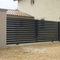 cancello scorrevole / in alluminio / a sbarre / per uso residenziale