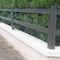 recinzione da giardino / a lamelle / in alluminio / liscia