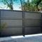 cancello battente / scorrevole / in alluminio / a pannello