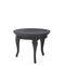 tavolino basso classico / in frassino / impiallacciato in legno / tondo