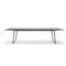 tavolo moderno / in quercia / in alluminio / in laminato