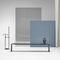 panca pubblica / da giardino / design minimalista / in alluminio