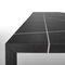 tavolo moderno / in acciaio / in marmo / in composito